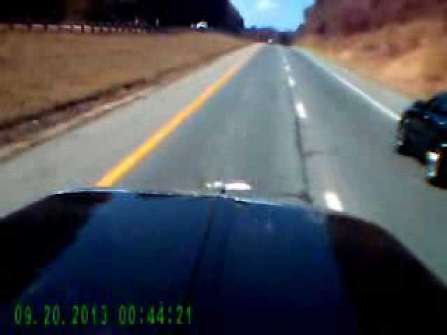 Semi-truck-dash-cam-video