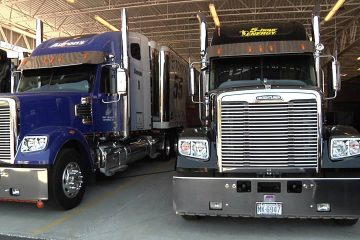 An-Inside-Look-At-Michael-Waltrip-Racings-Freightliner-Haulers