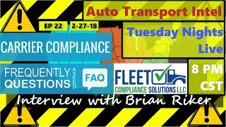 DOT-Regulations-Motor-Carrier-Compliance-Interview-For-Car-Haulers