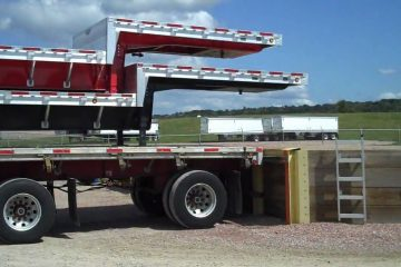 Picking-up-my-trailer-at-Wilson-plant
