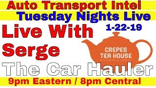 Car-Hauling-Meet-Up-Live-With-Serge-The-Car-Hauler-At-Crepes-Tea-House